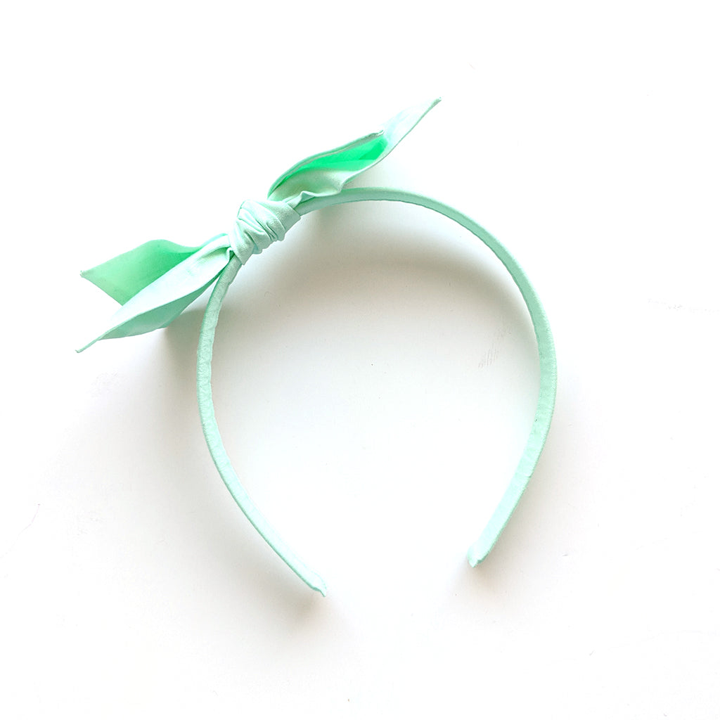 Mint :: Big Girl Headband