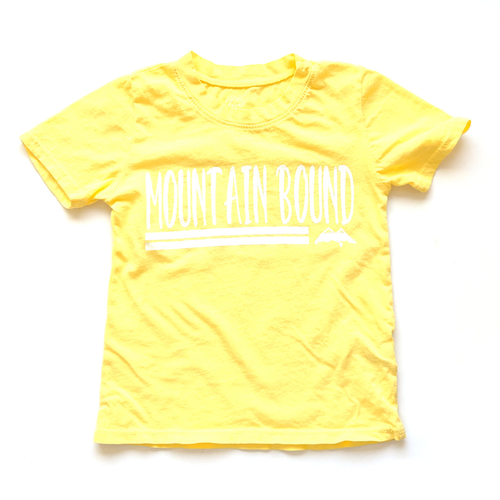 Mountain Bound :: Kids Short Sleeve