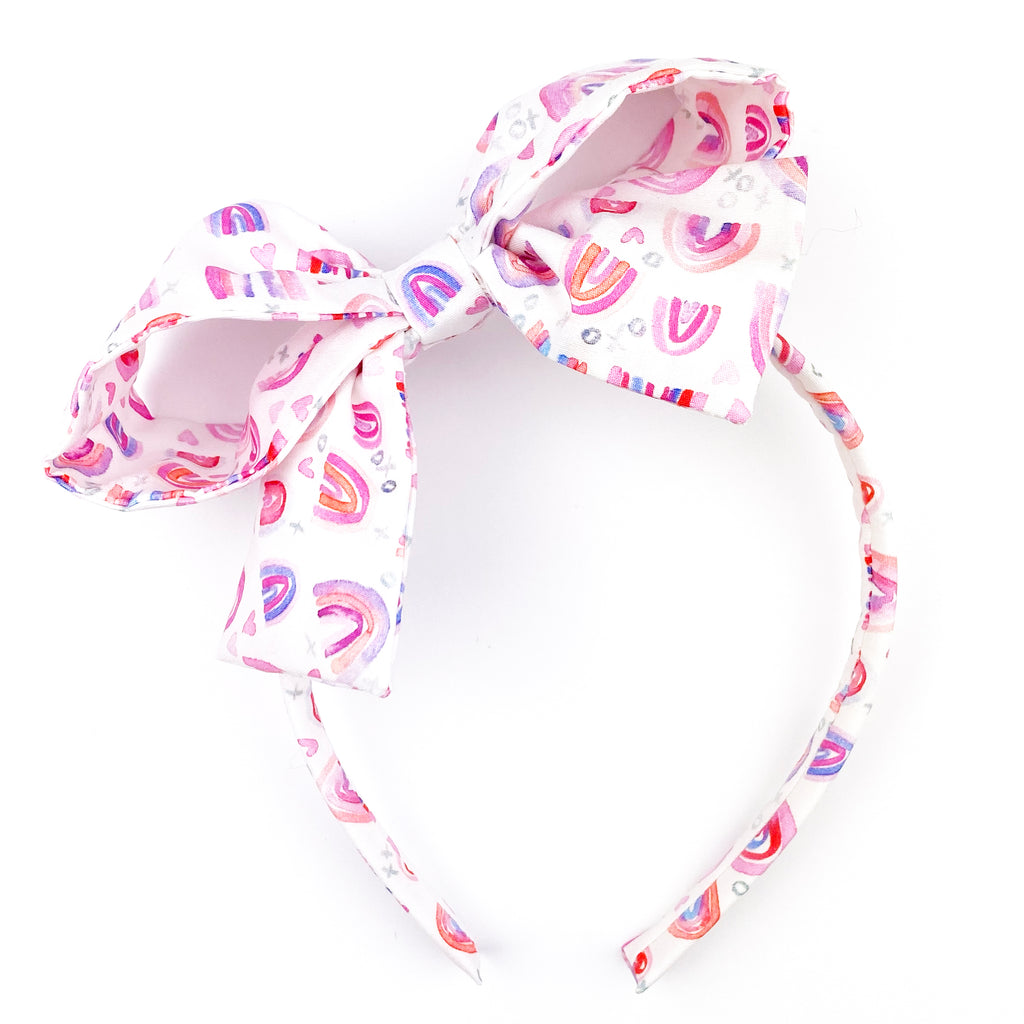 ***PRE-ORDER*** Painted Rainbow :: Big Girl Headband