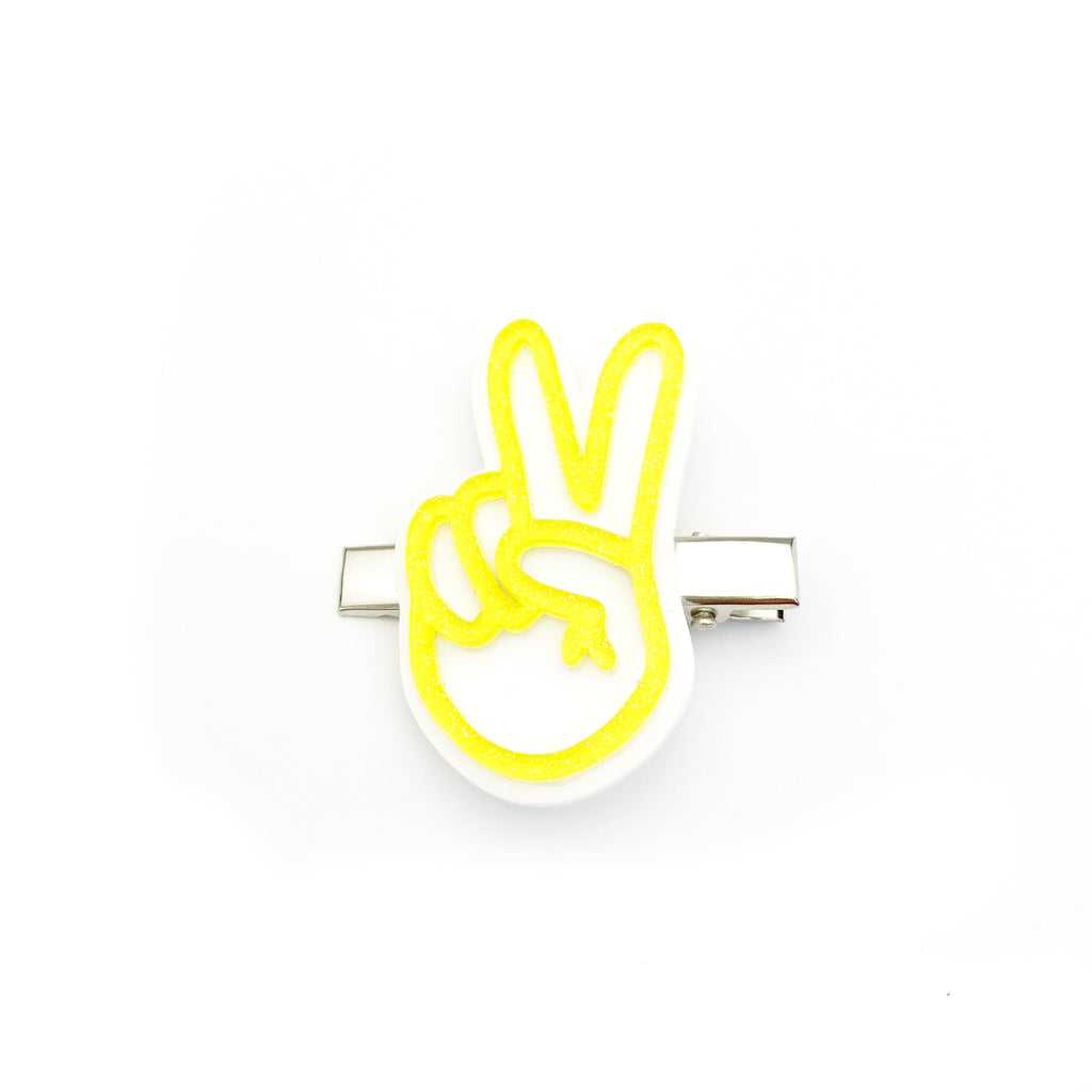 Peace Out :: Acrylic Clip