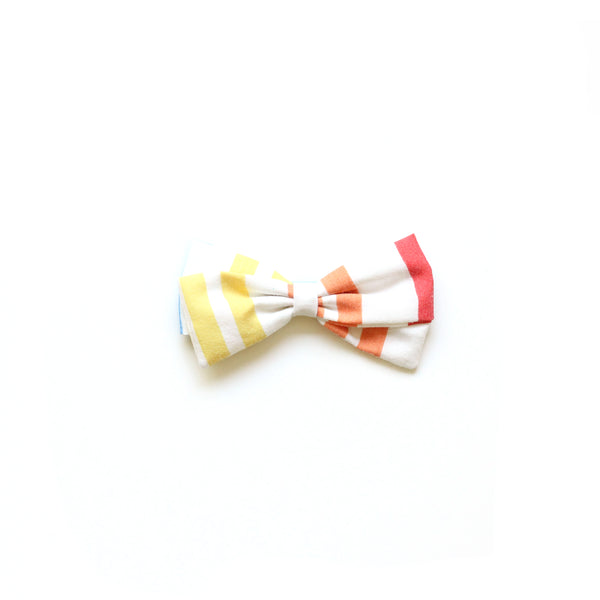 Primary Stripe :: Zoey Bow