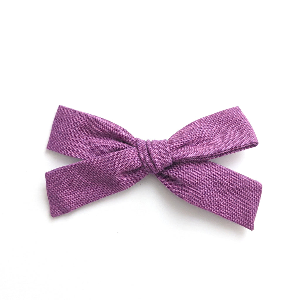 Purple Linen :: October '19 :: Explorer Bow