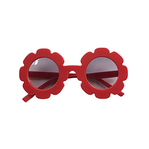 Red :: Flower Child Sunglasses