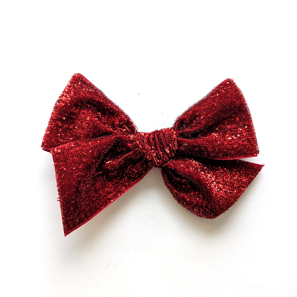 Red Sparkle :: Voyager Bow