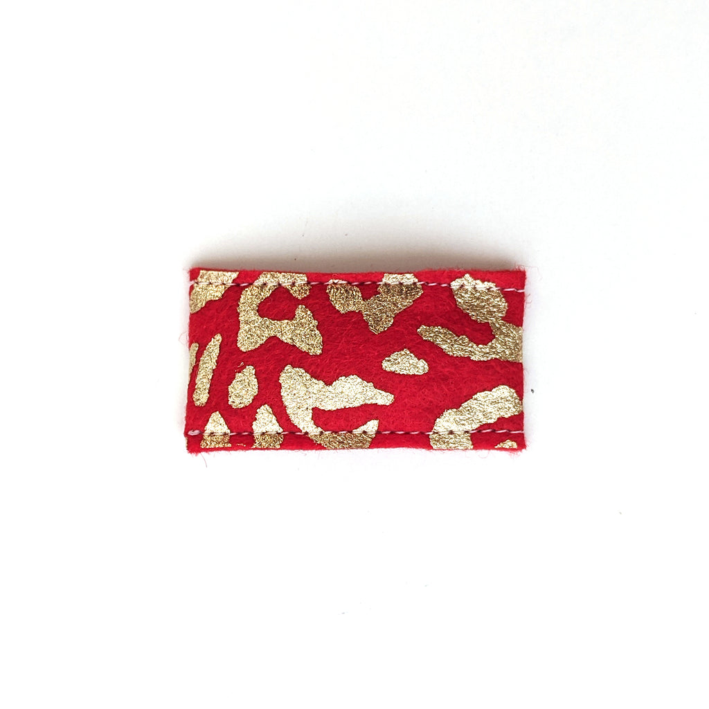 Red Leopard :: Snap Clip
