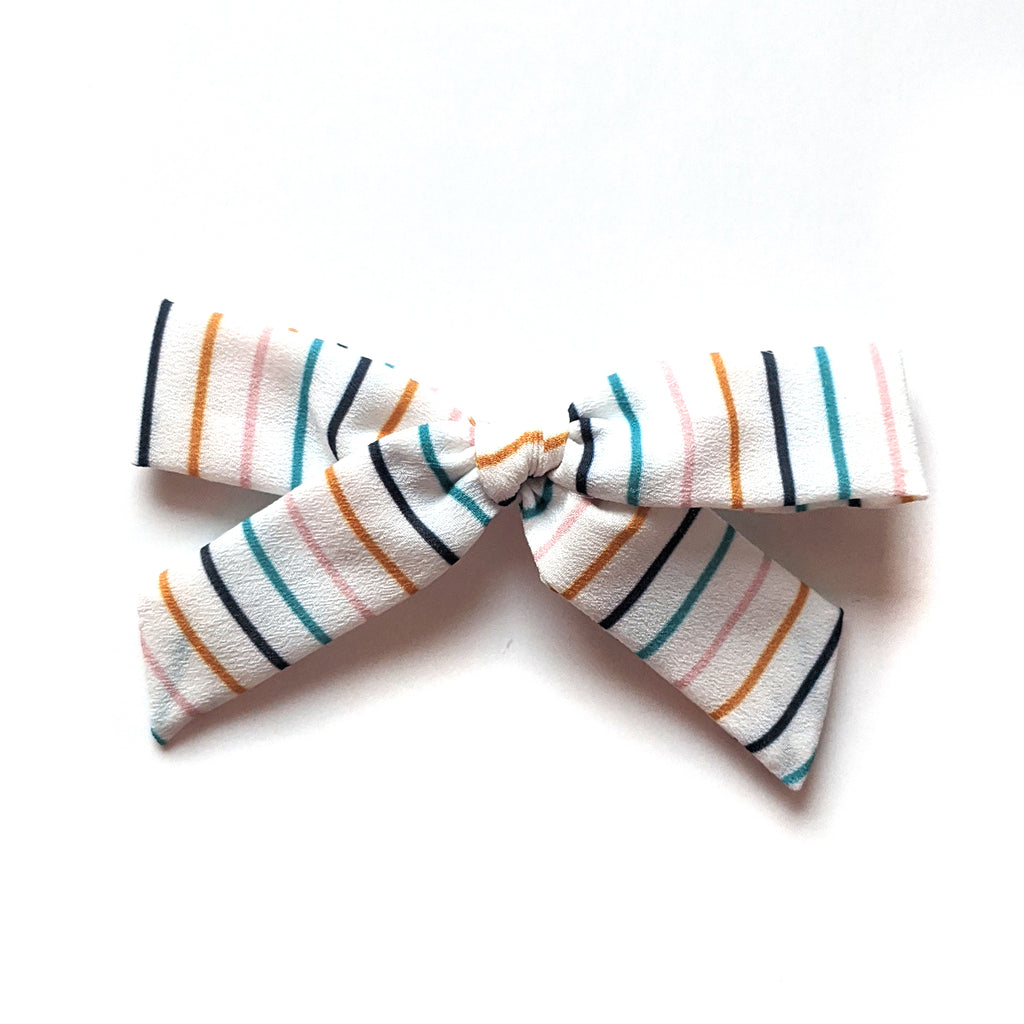 School Stripe :: Explorer Bow