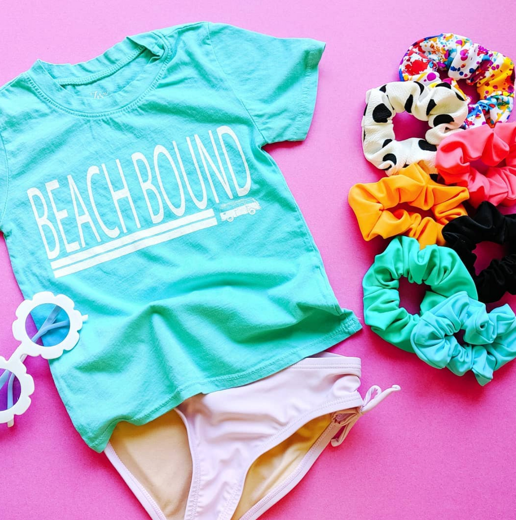 Beach Bound :: Kids Short Sleeve