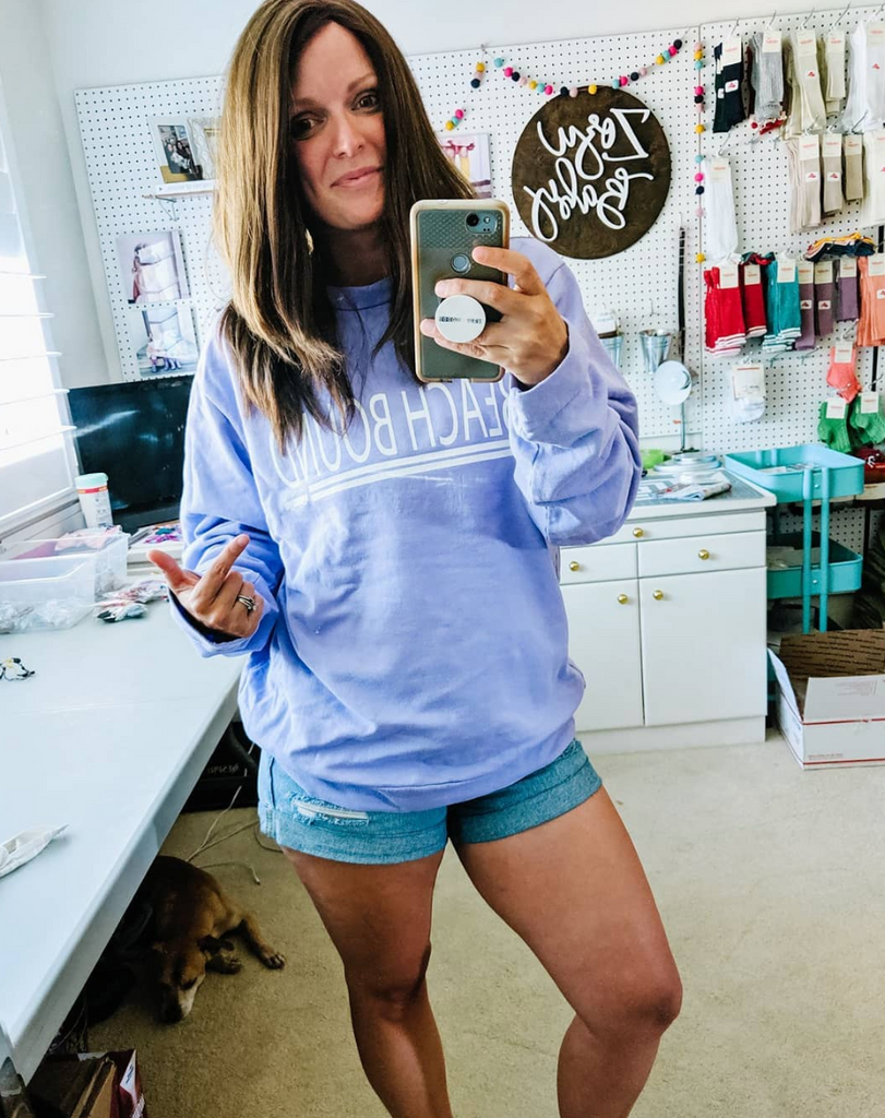 Beach Bound :: Adult Sweatshirt