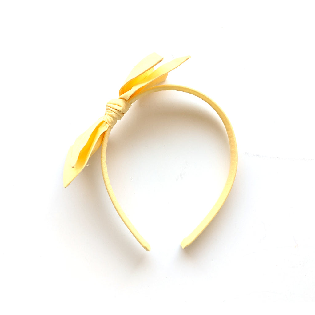 Soft Yellow :: Big Girl Headband