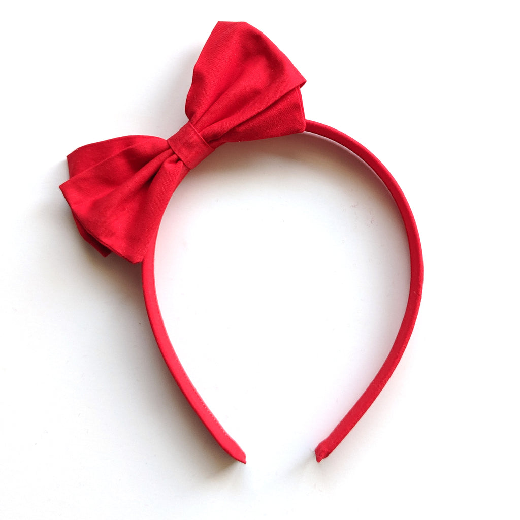 Red :: Big Girl Headband