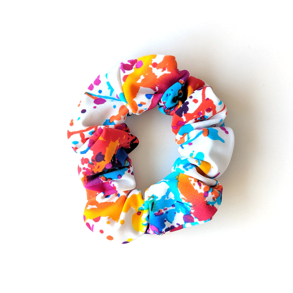Splatter :: Swim Scrunchie