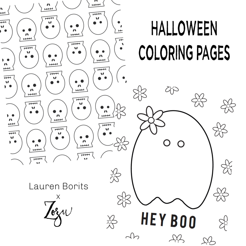 Halloween :: Color Pages