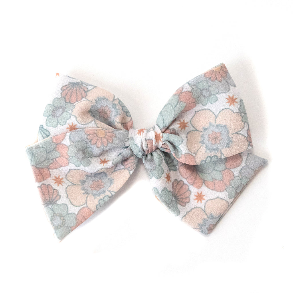 Summer Floral :: Indy and Pippa Bow