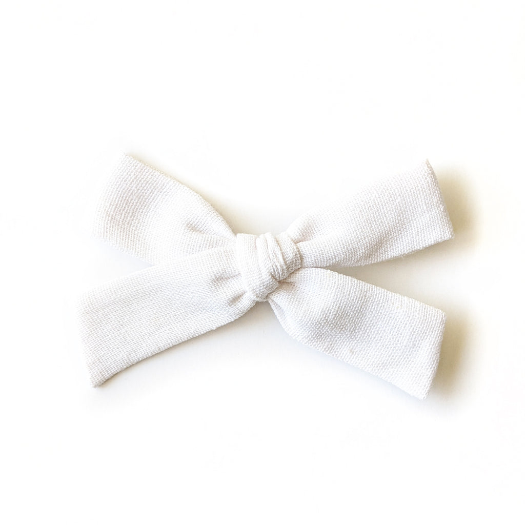 White Linen :: Explorer Bow