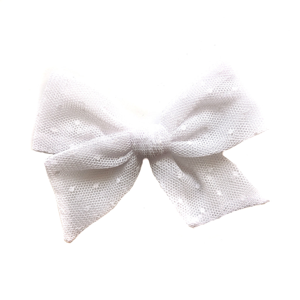 White Tulle :: Voyager Bow