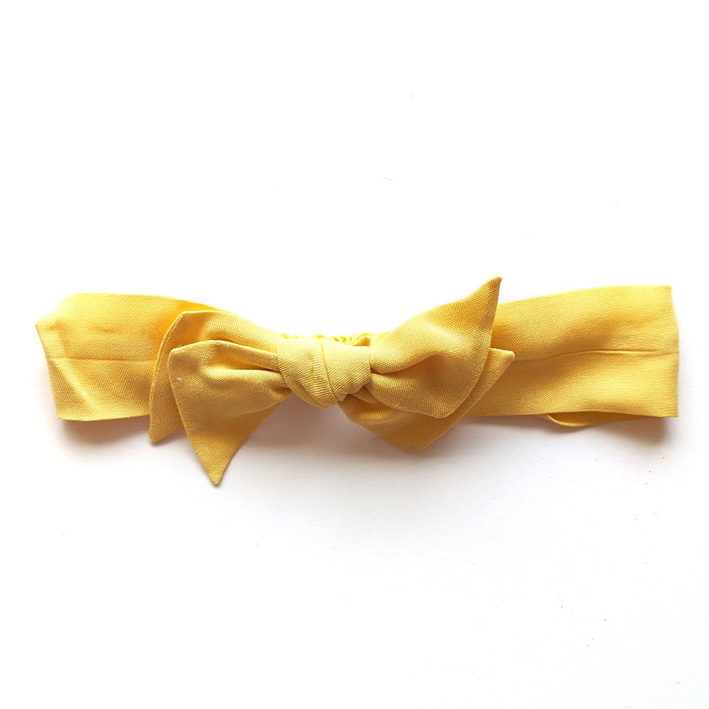 Soft Yellow Rayon :: Vintage Knot
