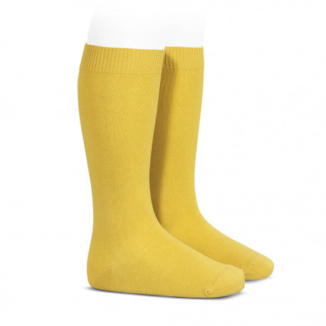 Yellow :: Condor Knee Socks