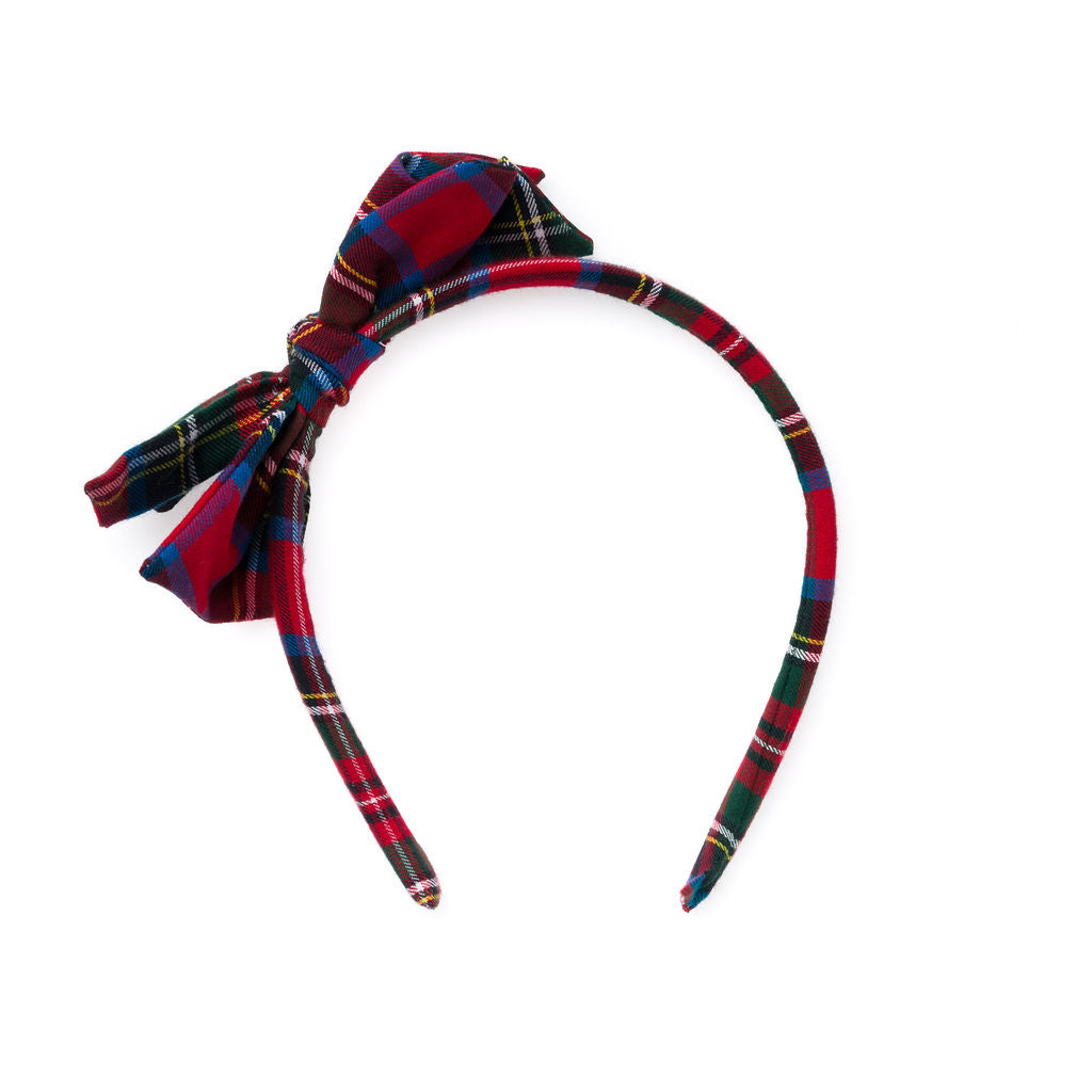 Nutcracker Plaid :: Big Girl Headband