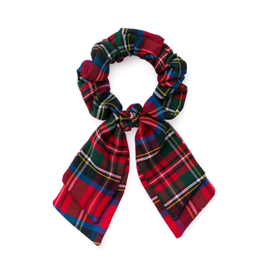 Nutcracker Plaid :: Pioneer Scrunchie