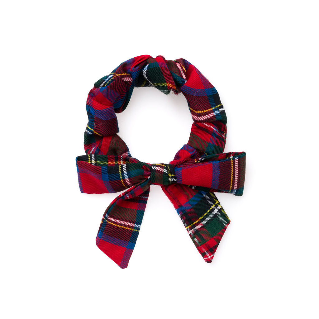 Nutcracker Plaid :: Explorer Scrunchie
