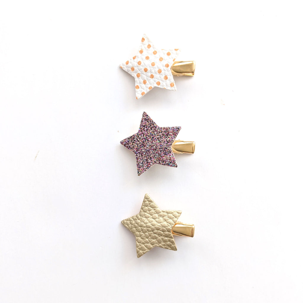 Star Clips :: Set of 3