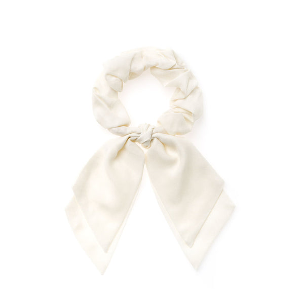 Soft White :: Pioneer Scrunchie