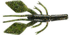 "4"" Diamond Craws - 5 Pack - Green Myst"
