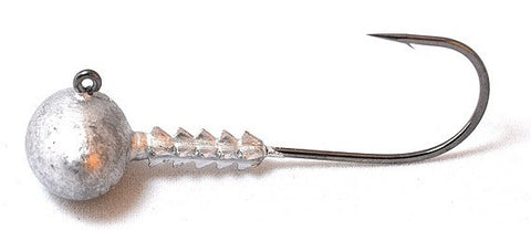 Jigheads - Football Gripper 1/4 oz 4/0 hook - 5 Pack