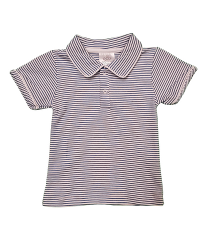 Bambinos Pinehurst Polo- Royal Stripe