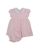 Bambinos Trinity Twirl Dress Set - Pink Stripe