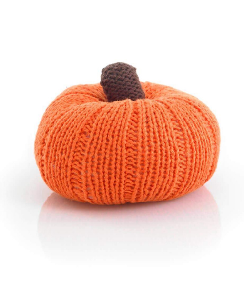 Pebble - Pumpkin Rattle