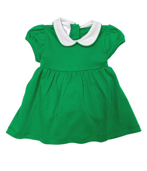 Trinity Twirl Dress- Green