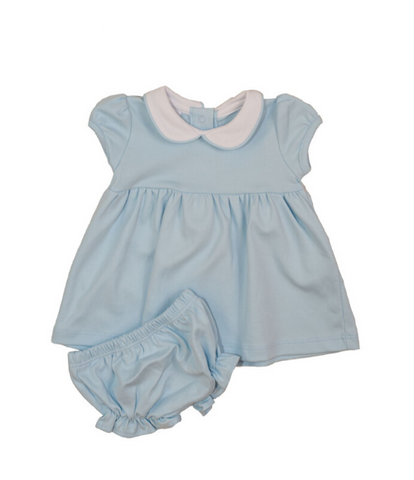 Bambinos Trinity Twirl Dress Set - Light Blue