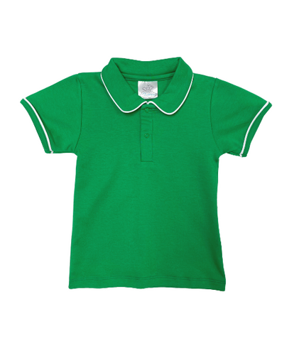 Bambinos Pinehurst Polo- SS Green