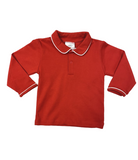 Bambinos LS Pinehurst Polo - Red