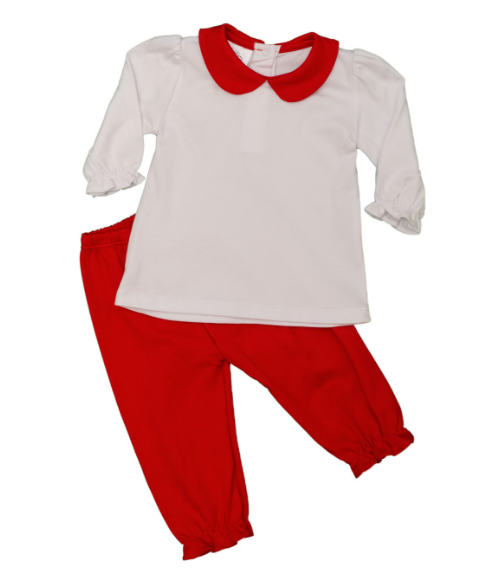 Bambinos Pallisades Pant Set - Red