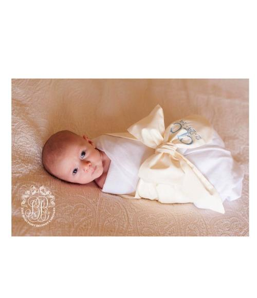 Beaufort Bonnet Bow Swaddle
