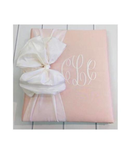 Custom Silk Baby Book