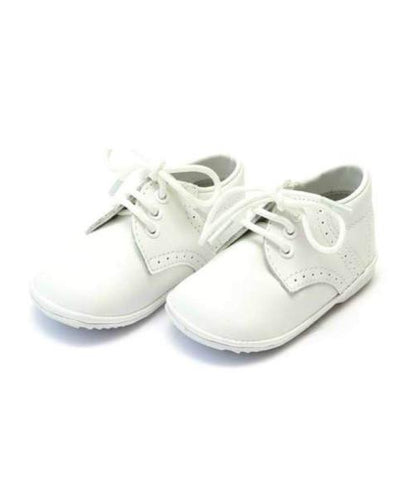 Saddle Oxford - White