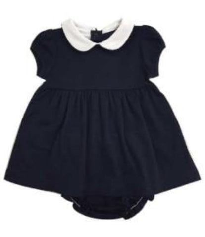 Bambinos Trinity Twirl Dress Set - Navy