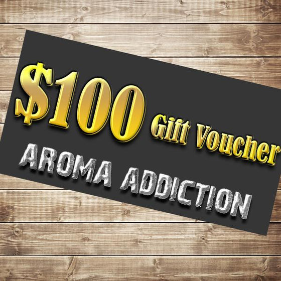 $100 Gift Card Gift Card Aroma Addiction