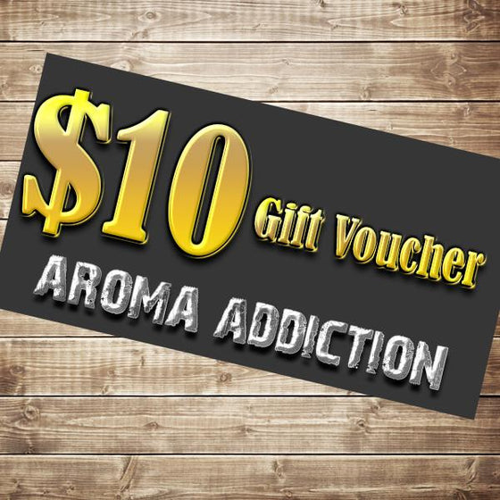 $10 Gift Card Gift Card Aroma Addiction