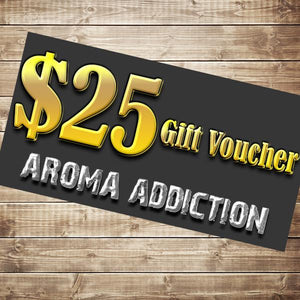 $25 Gift Card Gift Card Aroma Addiction