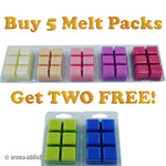 Buy 5 Soy Melt Packs Get Two FREE Scented melts Aroma Addiction