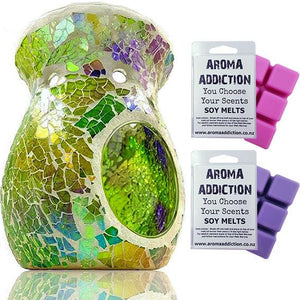 Afterglow Mosaic Melt Burner Melt Pack Combo melt burners Aroma Addiction