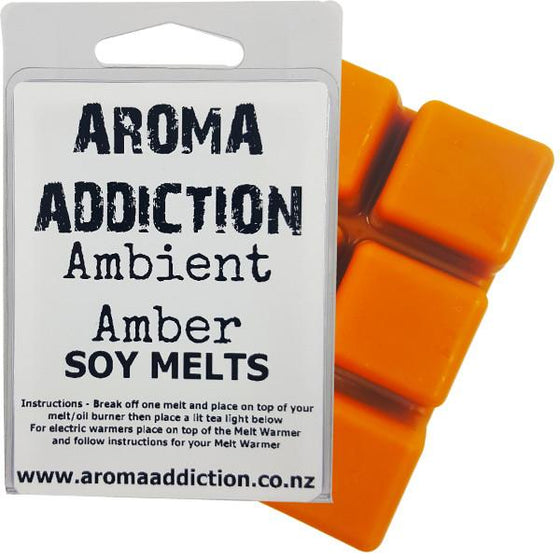 Ambient Amber Scented Soy Melt Pack - Scented melts - Aroma Addiction- - 1