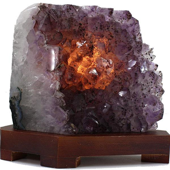 Amethyst Crystal Lamp #1
