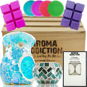 Aqua Blue Pamper Gift Hamper  Aroma Addiction