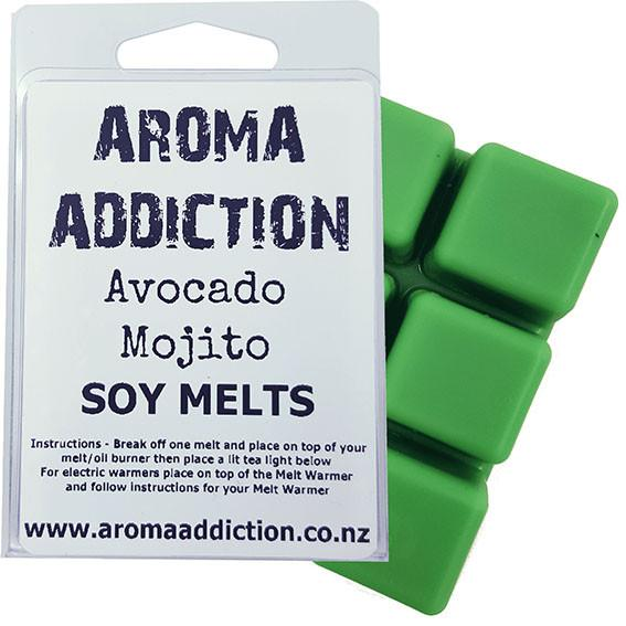 Avocado Mojito Scented Soy Melt Pack