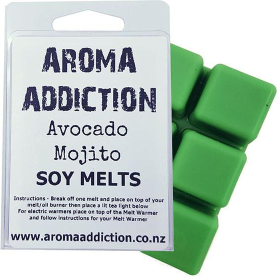 Avocado Mojito Scented Soy Melt Pack Scented melts Aroma Addiction